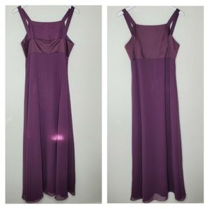 Adrianna Papell Dresses - Papell Boutique Evening Purple Full Length Dress